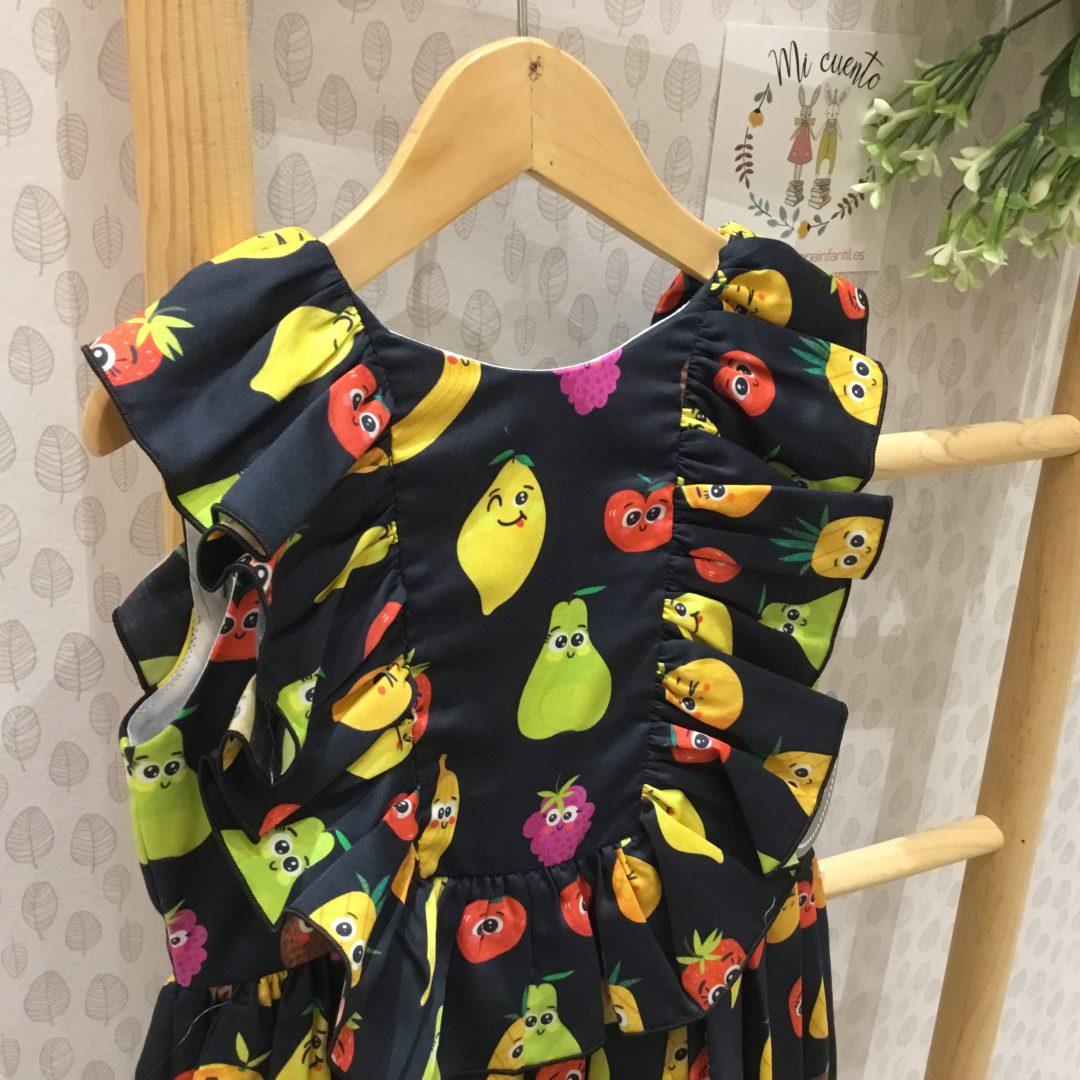 vestido frutas de mon petit bonbon