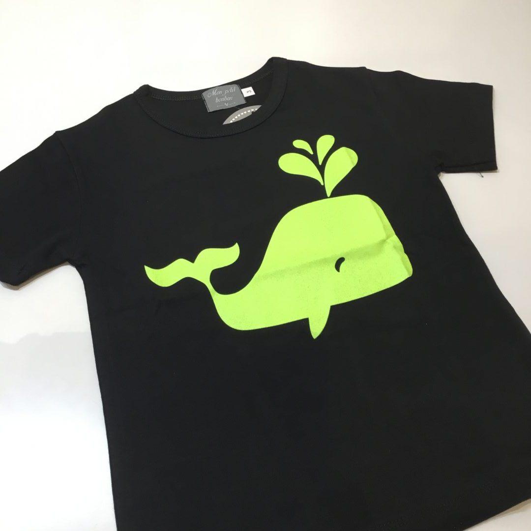 camiseta niño ballena de mon petit bonbon