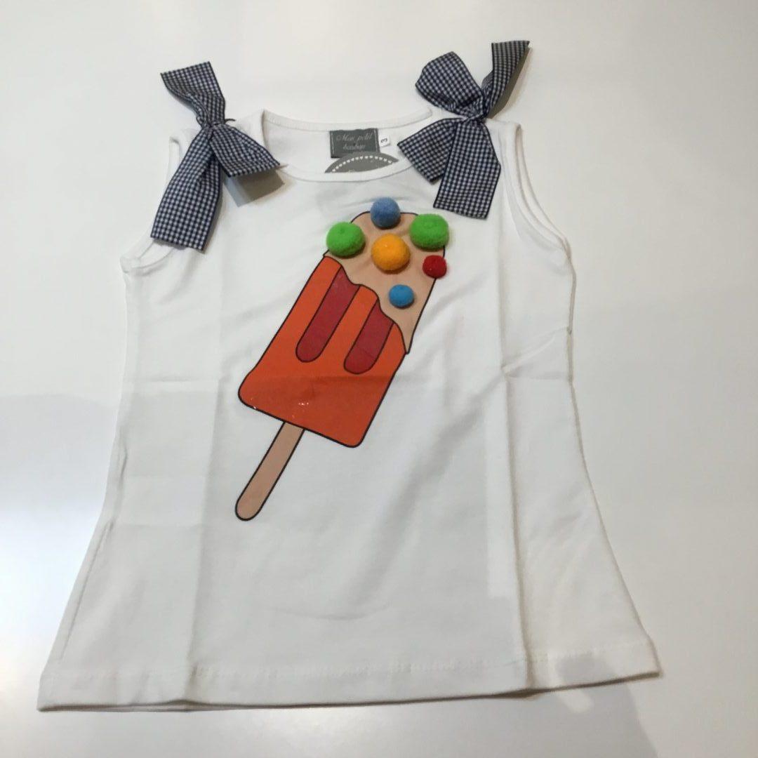 camiseta helado de mon petit bonbon
