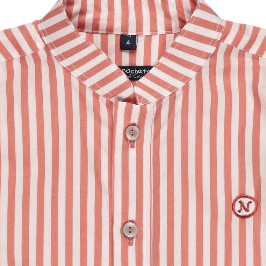 camisa polera de rayas